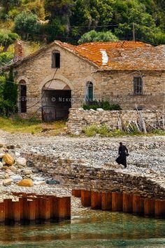 Arsanas of Zografou Monastery,  Mount Athos (Agion Oros), Greece