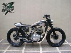 ♠Milchapitas-Kustom Bikes♠: Kawasaki KZ 200 By Mototrigger