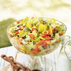 Gefilte Fish Chopped Salad
