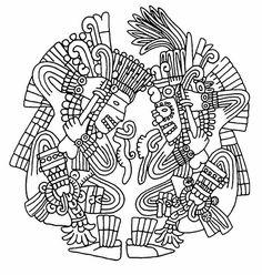 Aztec Coloring