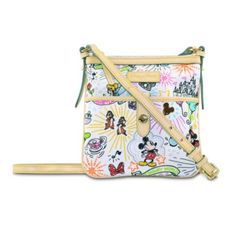 Disney Sketch Letter Carrier Bag by Dooney & Bourke