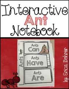 This download contains ant themed student interactive science notebook activities.  Included:Schema Chart Labels and DirectionsAnts Can, Have, AreAnt Observation LogParts of an Ant {three levels of difficulty}Types of Ants {three levels of difficulty}Ant Themed Vocabulary -  {three levels of difficulty}Ant Life Cycle (cut and paste flaps)Social Insects - Read and Gather InformationAnt and Bee VennRecommended Picture Books & Ant Farm LinksI hope this packet is everything you need to teach…