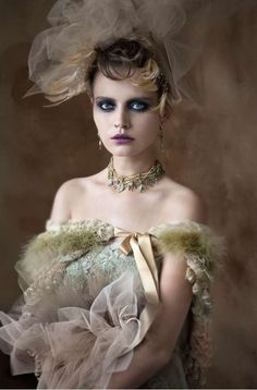 Vixen Victorian Jewelry Collection 2011 By MICHAEL NEGRIN is Perfect for Any Victorian-loving Fashionista & Serve as a tribute 2 the mid-1800s. Photographed By Guli Cohen............................  {5 of 6}