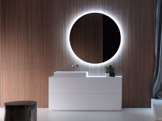 Wooden vanity unit with drawers PURE | Vanity unit with drawers by FALPER