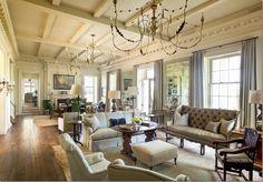 Awesome chandies, furniture arrangement, palette
