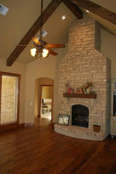 Fireplaces; like this space