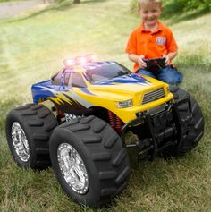 Big Wheel Monster 4x4 R/C Truck - One Step Ahead - Events