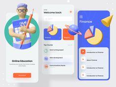 Edunik - Online Education Platform by Mahmudul Hasan Manik for Devignedge on Dribbble Top Course, Web Development, App Design, Mobile App, Finance, Challenges, Platform, Study, Science