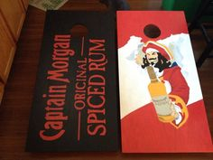 Cornhole Boards- Captain Morgan