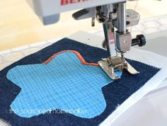 Sewing Machine Feet:: Satin Stitch/Open Toe Foot - The Seasoned Homemaker