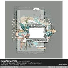 Layer Works No. 943- Studio Double-D Templates- LT182143- DesignerDigitals