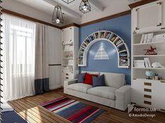 Дизайн интерьера в Крыму