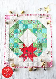 This listing is for an instant-download PDF-PATTERN. It is not a finished quilt…