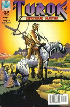 Cover for Turok, Dinosaur Hunter (Acclaim / Valiant, 1993 series) #43