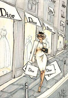 Imagem de dior and fashion