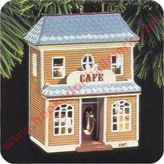 Café, Nostalgic Houses & Shops Series Hallmark Ornament, 1997. I have this one.