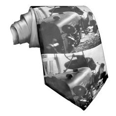 Old Tractor Custom Ties    •   This design is available on t-shirts, hats, mugs, buttons, key chains and much more    •   Please check out our others designs and products at www.zazzle.com/zzl_322881145212327*