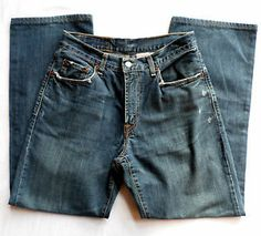 Mens Size 30x30 Lucky Brand Jeans, Slightly Distressed, Relaxed Straight Leg. $23.95