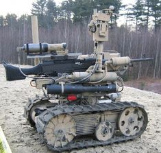 Killer Robots With Automatic Rifles Could Be on the Battlefield in 5 Years | Danger Room | Wired.com