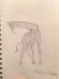Giraffe-by: Madison Latella