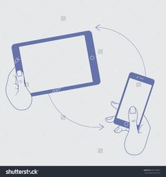 Template Mobile Devices - Mobile Tablet, Mobile Phone. Internet Service In Mobile Smartphone. Vector Cloud Service, Technology And Network In Mobile Tablet. Vector Tablet In Hands. Mobile Smartphone - 341278427 : Shutterstock