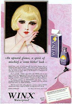 1925 Mascara ad