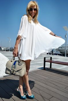 Love at first sight ♥  , Oasap.com in Dresses, Zara in Heels / Wedges, LaPallete in Bags <3 , Accessorize in Glasses / Sunglasses