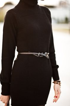 Happy Friday :: Prada sweater dress