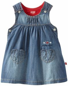 Baby-Girls Infant Jumper: cute for a farm party (denim, red paisley, gingham, straw)