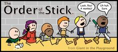 Order of The Stick comic series