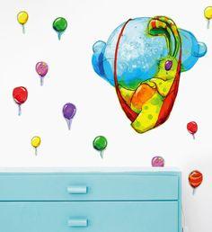 Wall Stickers, Children, Creative, Wall Clings, Wall Decals, Boys, Kids, Big Kids, Children's Comics