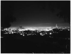 Night and the city: Los Angeles, 1951.