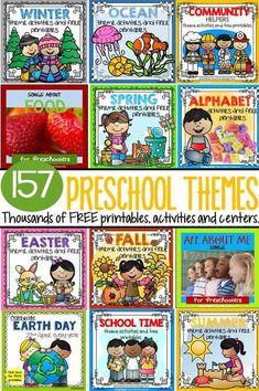Thousands of FREE Preschool Theme Printables and Activities - Homeschool Giveaways