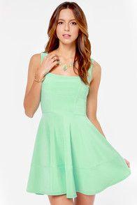 Home Before Daylight Mint Green Dress