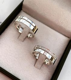 Gold Ring Designs, Wedding Ring Designs, Engagement Bands, Rose Gold Engagement Ring, Gold Rings Jewelry, Jewelery, Ring For Boyfriend, Wedding Rings Sets His And Hers, Couple Rings