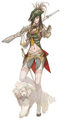 Granado Espada - Female Musketeer
