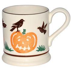 Emma Bridgewater pumpkin Halloween mug 2011