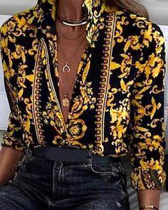 38 Ideas De Blusas Con Cadenas Ropa Moda Blusas De Moda