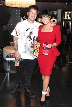 Rob Kardashian rang in his 26th birthday in Vegas with mom Kris Jenner