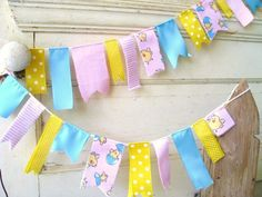 fabric ribbons banner - Google Search