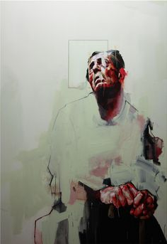 Study of a Figure, 2010, oil on canvas, 200 x 140 cm
