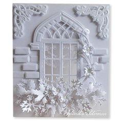 Marianne Design Craftables Die - Arched Window CR1259 < Craft Shop   Cuddly Buddly Crafts