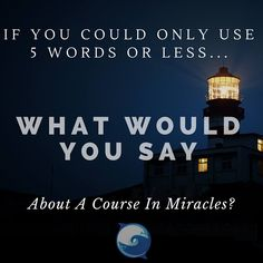 "My first thought is ~ ""Be love to experience miracles."" You? :) - Course In Miracles quotation http://www.the-course-in-miracles.com/freecourse"