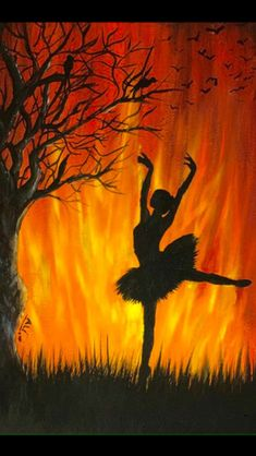 Dancing Poster Ballerinas 19 Ideas For 2019 Oil Pastel Paintings, Oil Pastel Art, Music Painting, Painting & Drawing, Painting Quotes, Art Sketches, Art Drawings, Ballerina Painting, Silhouette Painting