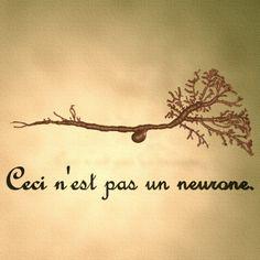 Ceci n'est pas un neurone