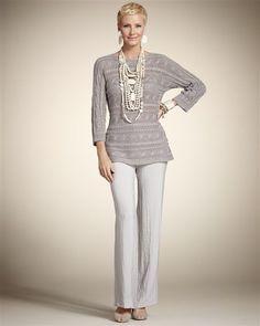 Moda mulher 50+ :túnica (ou bata) é uma peça que vem com tudo neste verão para as mulheres 50+, muito pratica e elegante, vai agradar as mulheres