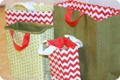 Fabric Gift Bag Pattern