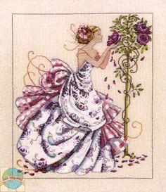 Mirabilia - Розы Прованса - вышивка крестом мир