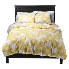 Just bought this from Target.com.  Took forever to find a yellow duvet cover.  Hope it will be a good start to the guest room...
