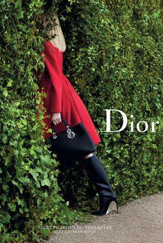 secret garden at Versailles #Dior